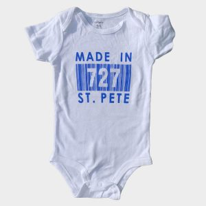 Infant Blue Made In 727 St. Pete