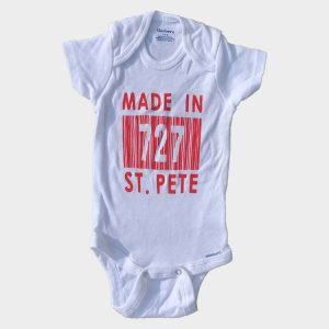 Infant Red Made In 727 St. Pete